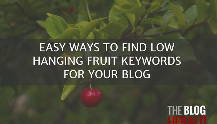 Easy Ways to Find Low-Hanging Fruit Keywords for Your Blog